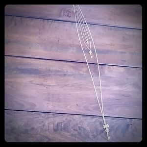 LC Triple Strand Necklace